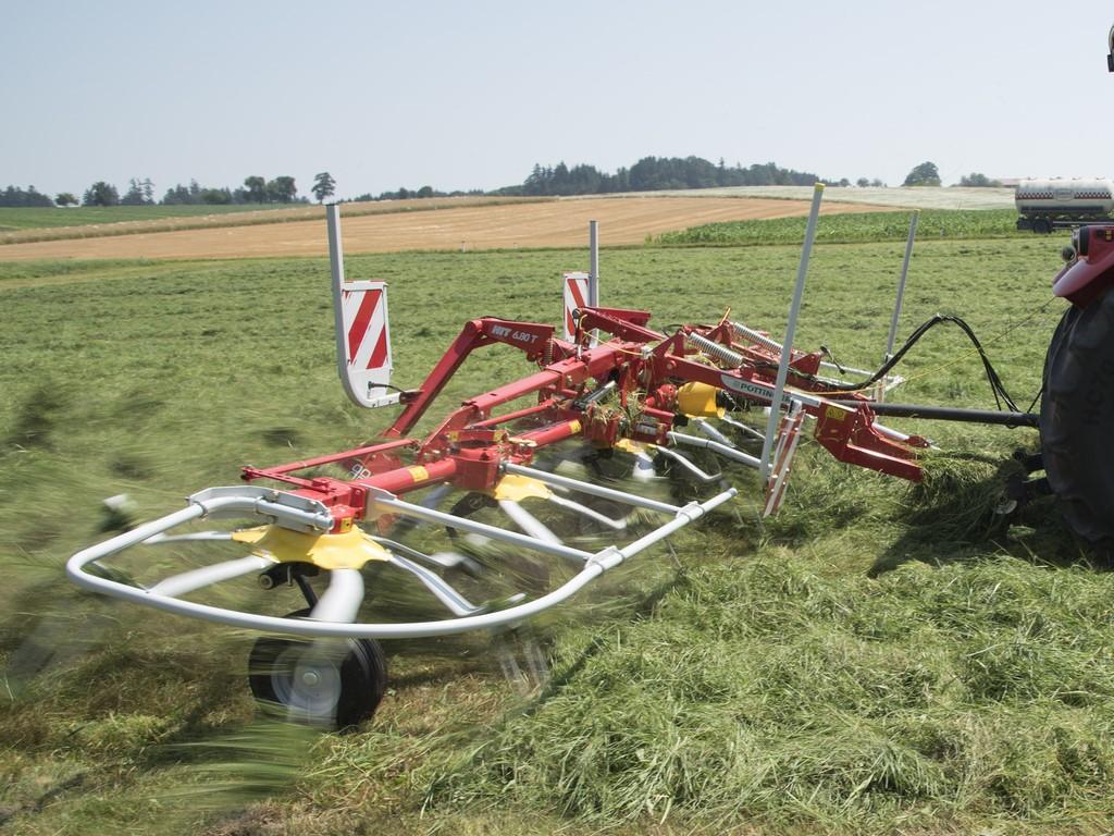 Ворошилка HIT 6 роторов Pöttinger - Фото_3